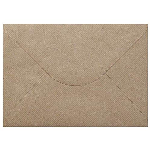 100vintage Kraft Brun strié enveloppes format C5162mm x 229mm