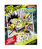 Crayola Spongebob Coloring Book Pages, Scented Stickers, 24Pgs