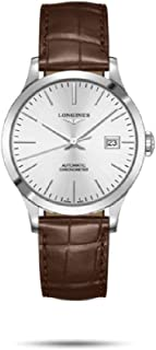 Longines Record Automatic Chronometer Silver Dial Men's Watch L2.820.4.72.2