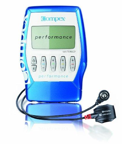 Compex Performance mi-ready - Electroestimulador muscular, color azul