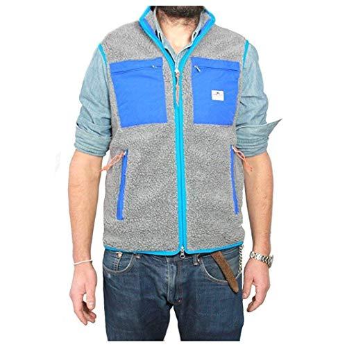 Penfield Weste Herren grau/blau 100% Polyester Größe S