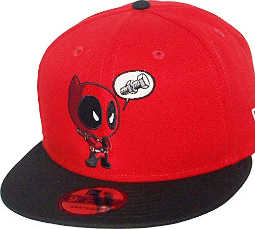 New Era Deadpool Nuts Scarlet Black Snapback Cap 9fifty 950 Marvel Basecap Limited Edition