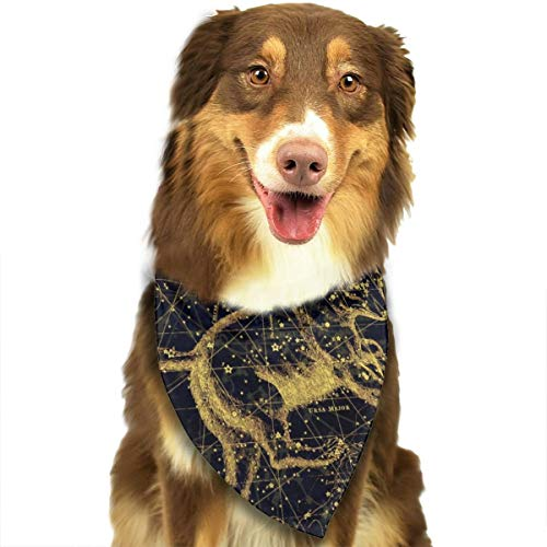 Sitear sterrenbeeld kaart dierenriem teken Sky hond kat Bandana driehoek slabbetjes sjaal huisdier geschikt voor kleine tot grote hond katten