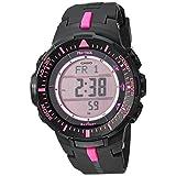 Casio PRO トレック クォーツ腕時計 樹脂ストラップ付き ブラック 18 (モデル:PRG-300-1A4ER)
