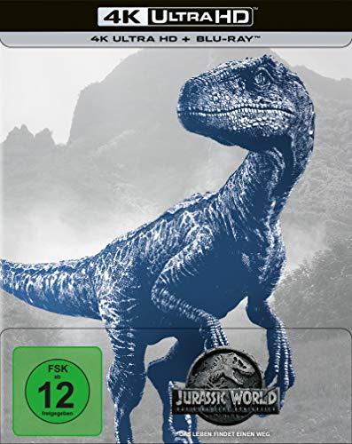 Jurassic World: Das gefallene Königreich - UHD - Steelbook (Amazon) [Blu-ray]