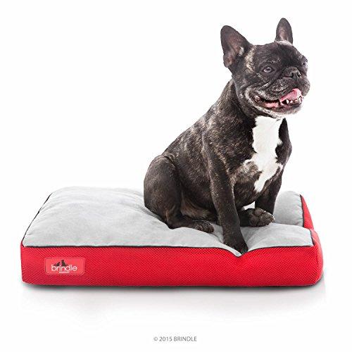 Brindle Memory Foam Soft Dog Bed