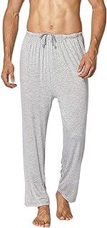 SOUGAO Men's Pyjama Bottoms Ultra Soft Modal Lounge Pants Nightwear Trousers