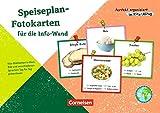 Perfekt organisiert im Kita-Alltag: Speiseplan-Fotokarten für die Info-Wand: Kita-Mahlzeiten in Wort, Bild und verschiedenen Sprachen Tag für Tag präsentieren. 25 Bildkarten