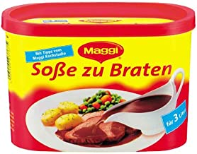 MAGGI DELIKATESS Sosse zu Braten [ Roast Gravy Mix ] (container for 3 liter)