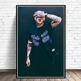 wtnhz Rappeur Hip-hop Musique Chanteur étoile Affiche Impression Peinture à l'huile Toile Art Mur Photo Salon décoration de la Maison sans Cadre