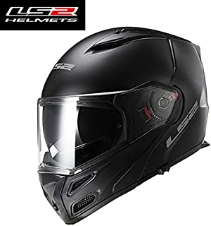 LS2 ff324 full-face motorCycles helmet multi-function helmet dual lens anti-fog motorCycles helmet LS2 milight moto FF324 - Black Mat - XXL