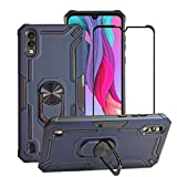 BestAlice for ZTE Blade A5 2020 Case with Tempered Glass
