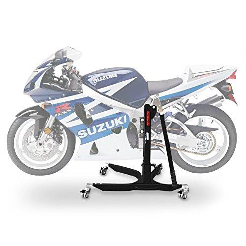 ConStands Power Classic-Zentralständer Suzuki GSX-R 750 00-03 Schwarz Matt Motorrad Aufbockständer Heber Montageständer