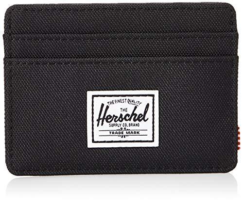 Herschel Herren Charlie RFID Kartenetui, schwarz, Einheitsgröße