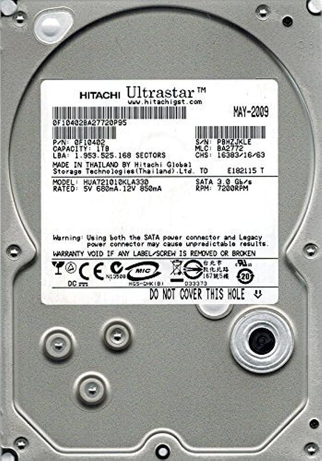 夢勉強する原油Hitachi HUA721010KLA330 P/N: 0F10402 MLC: BA2772 1TB [並行輸入品]