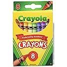 Crayola Crayons, 8 Count (Case of 48)