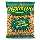 nagaraya cracker nuts (garlic flavor) - 5.6oz [6 units] (731126104166)