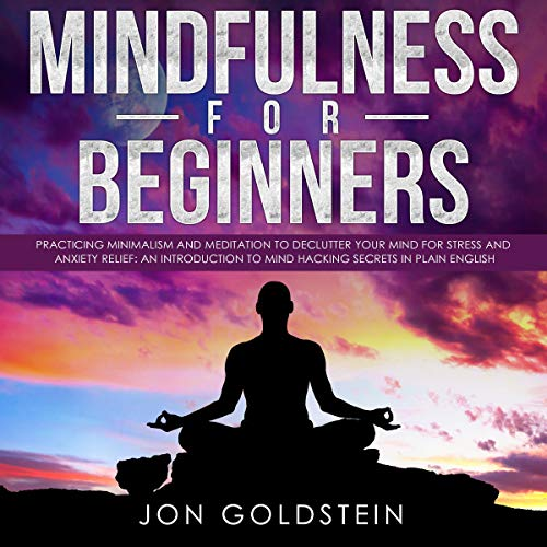 Mindfulness for Beginners: Practicing Minimalism and Meditation to Declutter Your Mind for Stress and Anxiety Relief Titelbild
