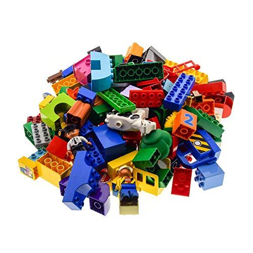 2 Kg Lego Duplo ca 150 Basicsteine und Sondersteine bunt gemischt