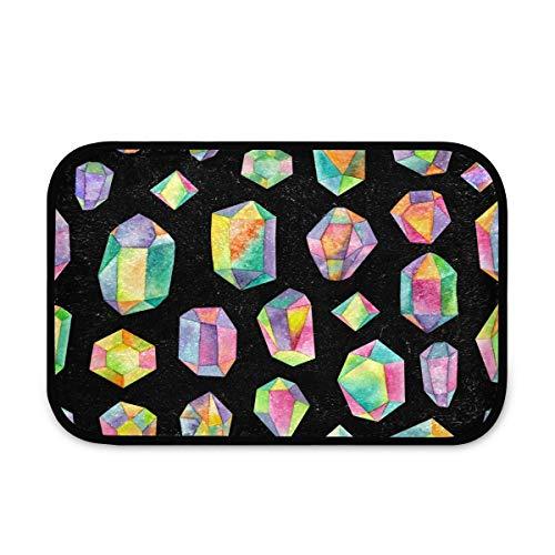 Neceser colgante con diseño geométrico de arcoíris, bolsa de maquillaje, bolsa de viaje, con 4 compartimentos para mujer