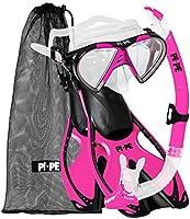 PI-PE Actieve snorkelset voor volwassenen.