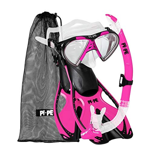 PI-PE Schnorchel-Set Active pink S-M