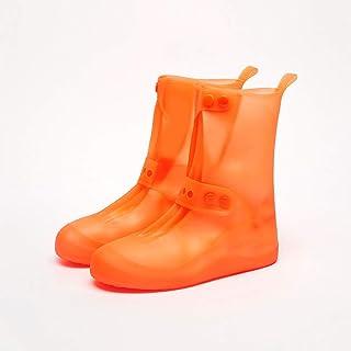 marca blanca Bottes De Pluie À Tube Élevé Couvrant Les Bottes De Pluie Antidérapantes Antidérapantes/Épaisses/Chaussures I...