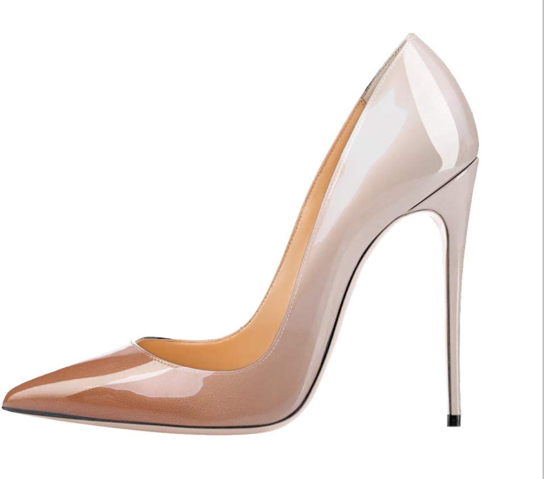 43EU Schuhe Abendkleid Klassische Schuhe GroE Mund Flachen