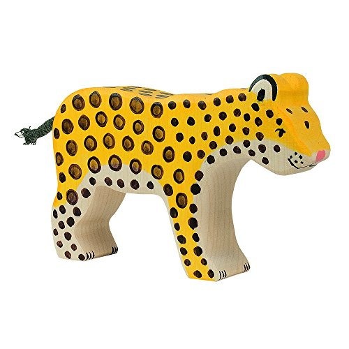 Holztiger 80566 - Spielfigur - Leopard