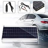WYYSYNXB Kit de Panel Solar Flexible policristalino de Doble Salida con 2 Puertos USB 15W DC 5V / 18V y Carga para automóvil Carga Solar Regulador Inteligente PWM