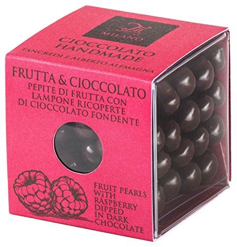 T'a Milano Lampone Rivestito di Cioccolato Fondente 66%, 60 g