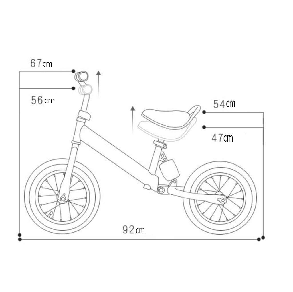 Bicicletas sin pedales Lightweight Niños Balance Car Baby Sin ...