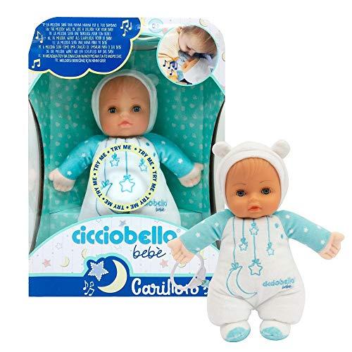 Giochi Preziosi - Cicciobello Bebè Carillon con Melodia Bambola, CCC13000