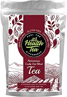 Autoimmune Leaky Gut Premium Tea Blend Loose Leaf 1.4z (Licorice Mint, Angelica Root, Dandelion Root) Thyroid Health Gut H...