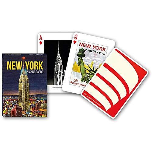 Piatnik New York Playing Cards Nueva York Baraja de Poker