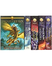 Heroes of Olympus Hardcover Boxed Set (The Heroes of Olympus)