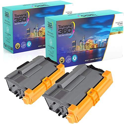 Pack 2 Tóners Premium Compatible Brother TN3430/TN3480 para impresoras DCP-L5500DN DCP-L6600DW; HL-L5000D HL-L5100DN HL-L5200DW HL-L6300DW HL-L6400DW; MFC-L5700DN MFC-L5750DW MFC-L6800DW MFC-L6900DW