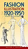 Fashion Illustration 1920-1950: Techniques and Examples (Dover Art Instruction) (English Edition)