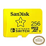 SanDisk 256GB MicroSDXC UHS-I Memory Card for Nintendo Switch -...