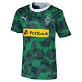 PUMA Kinder BMG Third Shirt Replica Jr with sponsor Trikot, Amazon Green Black, L