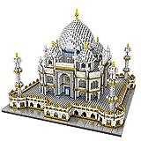 Taj Mahal Hito Mundialmente Famoso 3950 Piezas Nano Mini Kits, 3D Puzzle DIY Toys Modelo Brick Toy, Nano-Mini Building Blocks DIY Toys, Bloques De Construcción De Construcción - 3950 Pcs