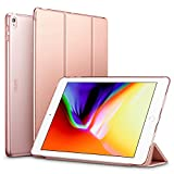 ESR Yippee Trifold Smart Case for iPad Air 3/iPad Pro 10.5' 2019, Auto Sleep/Wake Trifold Stand Case, Microfiber Lining Hard Back Cover for iPad Air 3/iPad Pro 10.5 inch (Rose Gold)