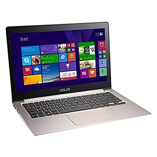 ASUS ZENBOOK 13 Pollici QHD Plus 1800p Touchscreen Laptop, i5-5200U, 8 GB RAM 256 GB SSD Windows 8.1 No-UK Tastiera Gold Edition