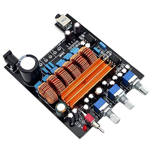 HYY-YY 12v 50Wx2+100W TPA3116D2 amplificador de subwoofer digital HiFi 2.1 Placa Verst