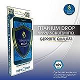 Titanium Drop Handy Schutzmittel Nano Screen Protector (Wasserabweisend, Unsichtbar, Flüssig Bildschirmschutz, Anti-Kratzer - Universal), 5999887623011