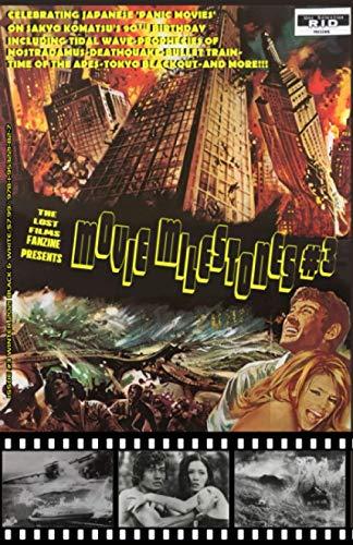 THE LOST FILMS FANZINE PRESENTS MOVIE MILESTONES #3: (Black and White/Variant Cover C)