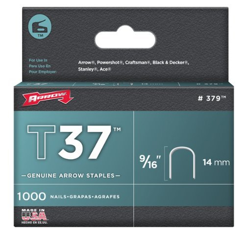 Arrow 356 Genuine P35 3/8-Inch Staples, 5,040-Pack by Arrow Fastener (English Manual)