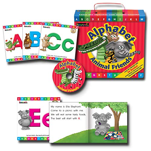 Newmark Learning Early Readers Boxed Set, Alphabet Animal Friends