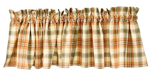 """Lemon Pepper Country Window Valance By Park Designs, 72"""" x 14"""""""