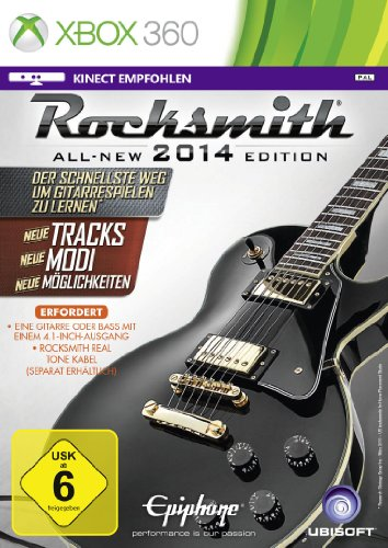 Ubisoft Rocksmitch 2014 Edition Básico Xbox 360 Alemán vídeo - Juego (Xbox 360, Música, T (Teen))